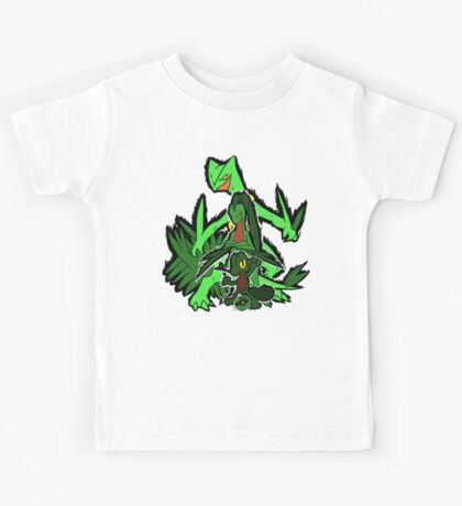Grass Pokèmon Emerald Power! Kids Tee