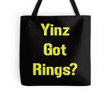 Pittsburgh Steelers Yinz Got RIngs? Tote Bag