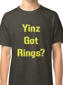 Pittsburgh Steelers Yinz Got RIngs? Classic T-Shirt