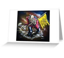 "The ""Steel City"" Trooper Greeting Card"