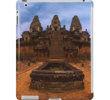 Afternoon at Pre Rup Temple - Cambodia iPad Case/Skin