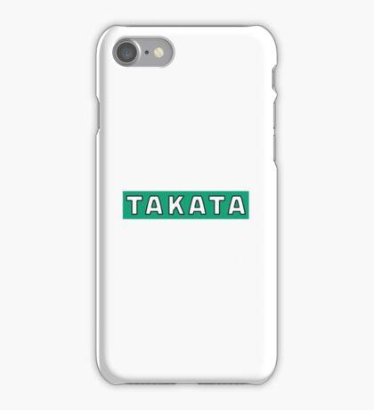 TAKATA SEATBELT LOGO iPhone Case/Skin