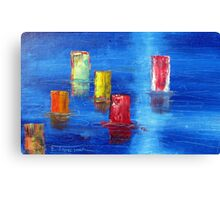 Tranquil   Reflections. Canvas Print