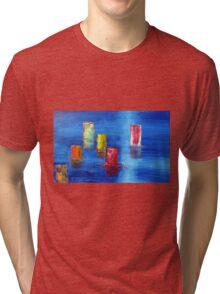 Tranquil   Reflections. Tri-blend T-Shirt