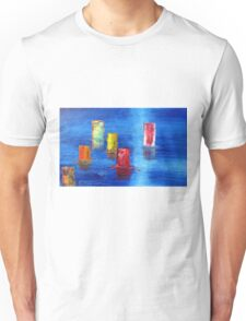 Tranquil   Reflections. Unisex T-Shirt
