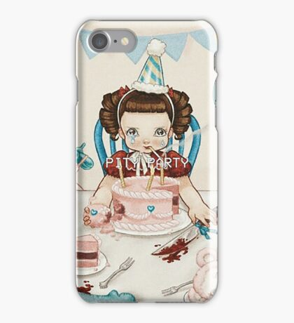 pity party iPhone Case/Skin