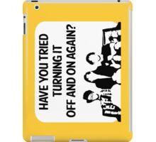 the IT crowd ipad case iPad Case/Skin