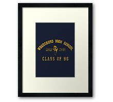 Scream - Class of 96 Framed Print