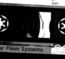TIE Pilots Groove  Sticker