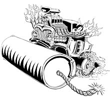 Rolling dynamite  Photographic Print