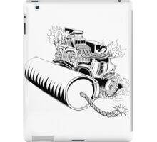 Rolling dynamite  iPad Case/Skin
