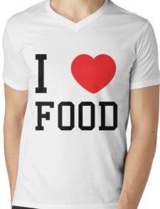 I love food Mens V-Neck T-Shirt