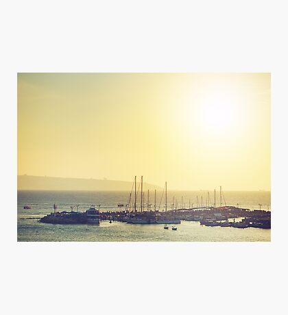 Sea travel background Photographic Print