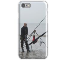 A sea fisherman at  Fleetwood. iPhone Case/Skin