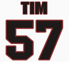 NFL Player Tim Fugger fiftyseven 57 by imsport