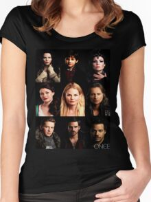 OUAT Posters Tee Women's Fitted Scoop T-Shirt