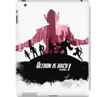 The evil is back iPad Case/Skin