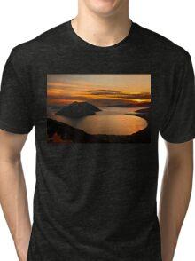 Ionian Panorama Sunset Tri-blend T-Shirt