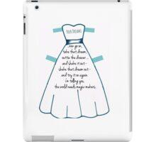 Dreams - Try It On Again iPad Case/Skin