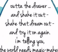 Dreams - Try It On Again Sticker