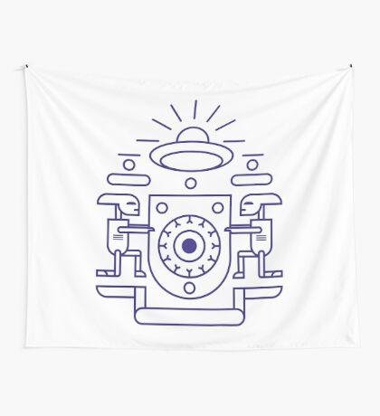 UFO Watchers Wall Tapestry