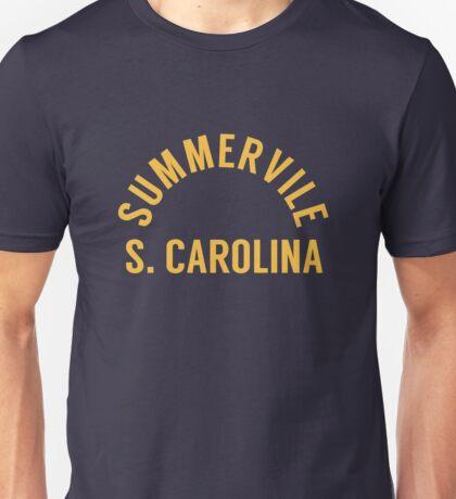 Summerville SC Letter Arch Unisex T-Shirt