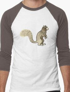Foxy Squirrel Men's Baseball ¾ T-Shirt