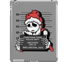 Jack's Nightmare After Christmas iPad Case/Skin