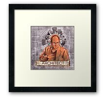 The Architect - George Costanza Framed Print