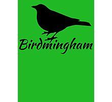 Birdmingham Photographic Print