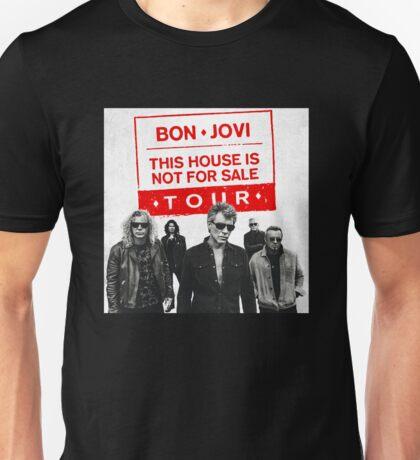 bon jovi tour 2017 erisasari ES one Unisex T-Shirt