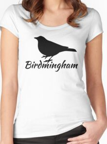 Birdmingham Women's Fitted Scoop T-Shirt