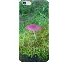 Purple Mushroom iPhone Case/Skin
