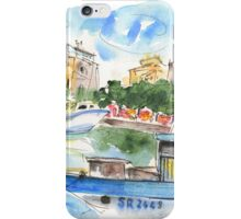 Boats In Siracusa 01 iPhone Case/Skin