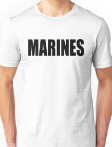 Basic MARINES Unisex T-Shirt