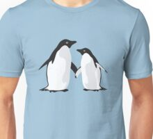 Cute Christmas Penguins Unisex T-Shirt