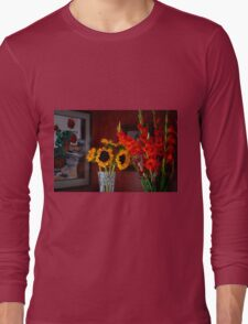 GLADS, SUNFLOWERS, AND MORE Long Sleeve T-Shirt