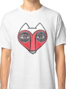 fox face heart Classic T-Shirt
