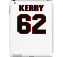 NFL Player Kerry Hyder sixtytwo 62 iPad Case/Skin