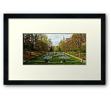 The Italian Garden at Longwood Framed Print