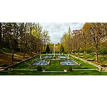 The Italian Garden at Longwood Photographic Print