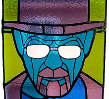 Heisenberg Stained Glass by Antonio Méndez Díaz