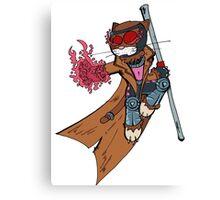 Gambit cat Canvas Print