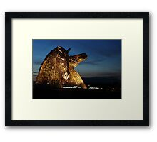 The Golden Kelpies (2014) Framed Print