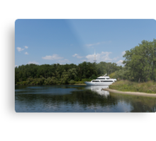 Cruising Among the Toronto Islands  Metal Print