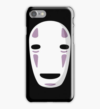 """No Face's Mask"" Ghibli Studio -Spirited Away- iPhone Case/Skin"