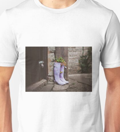 Recycle your boots! Unisex T-Shirt