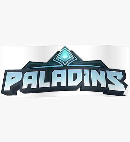 Paladins Logo Poster