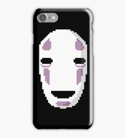 """No Face's Mask Pixel Art"" Ghibli Studio -Spirited Away- iPhone Case/Skin"