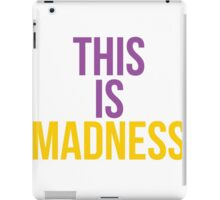 This is madness iPad Case/Skin